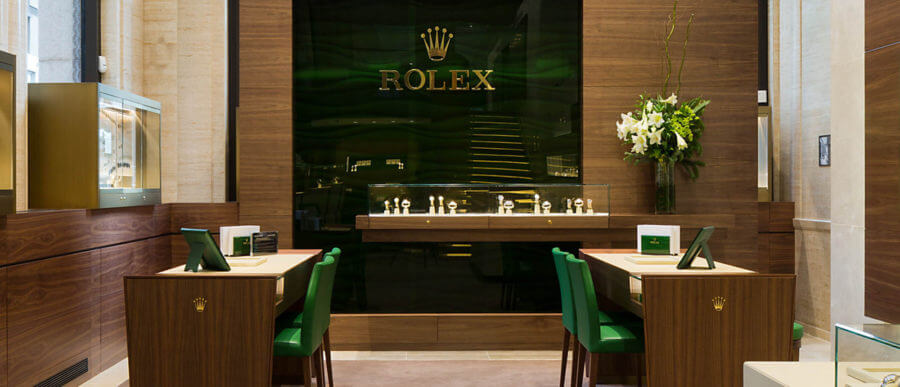 boutique de montre Rolex